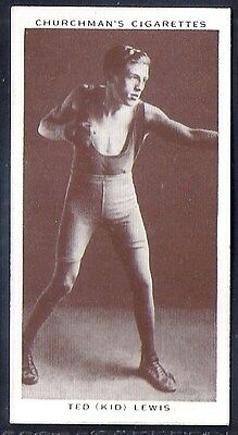 Churchman-Boxing Personalities-#25- Ted Kid Lewis