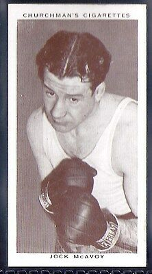 Churchman-Boxing Personalities-#28- Jock Mcavoy