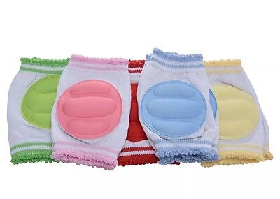 NEW Baby Safety Crawling Knee Pads Elbow Pads Protectors Kneepads - UK SELLER