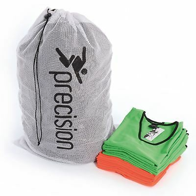 Precision Training Football Bib Bag Carry Bag Training Sports Wash Bib Mesh Bag