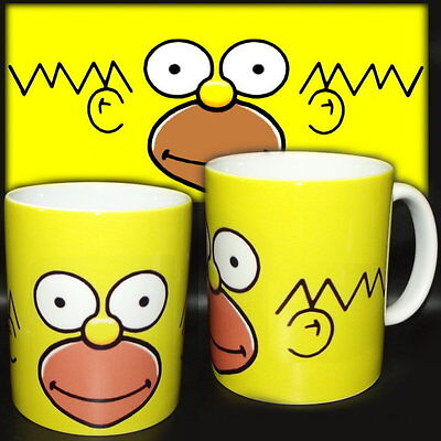tazza mug HOMER simpson cartoon scodella ceramica