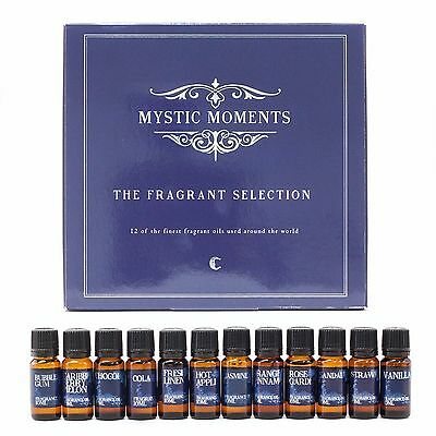 Mystic Moments | The Fragrant Selection | 12 Finest Fragrant Oils (GIFTSELEFRAG)