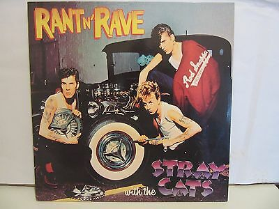 Stray Cats - Rant N Rave - 1983 - Rockabilly - Spain - NM+/EX+