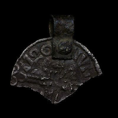 Aethelred Huntingdon Long Cross Penny Reused As Viking Battle Axe Pendant Amulet