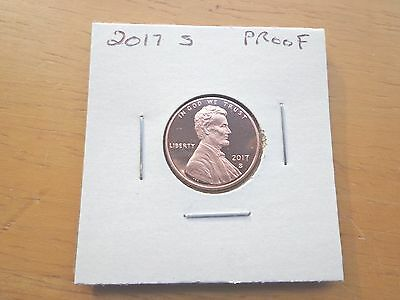 2017 S Lincoln Proof Penny Cent  Roll of 25  Fresh From US Mint Sets