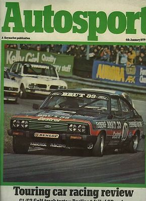 Autosport August 9th 1979 Brands Hatch 6 Hours & Misano F2