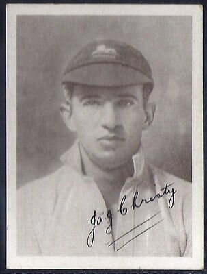 Utc (South Africa)-S. A. Cricket Touring Team (Autographed)- Christy