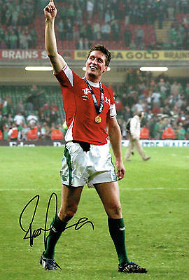 Ronan O'GARA Signed Autograph 12x8 Photo AFTAL COA British Lions Rugby Union