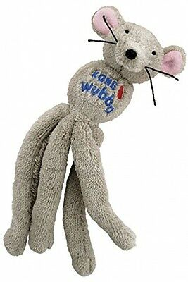 KONG Wubba Mouse Cat Kitten Toy - Catnip Scent - Rattle Body - Crinkle Tail