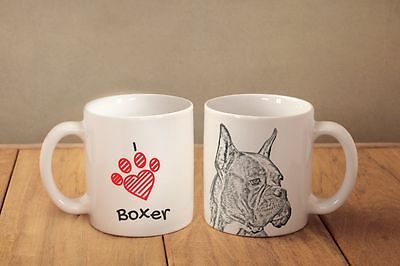 "Boxer - ein Becher ""I love"" Subli Dog, DE"