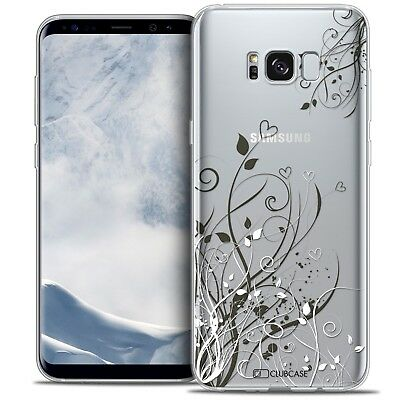 Coque Crystal Gel Samsung Galaxy S8 (G950) Extra Fine Souple Love Hearts Flowers