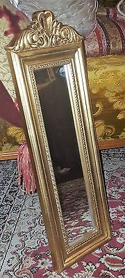 Gold Long Wall Mirror Verano Venetian Bedroom Vintage