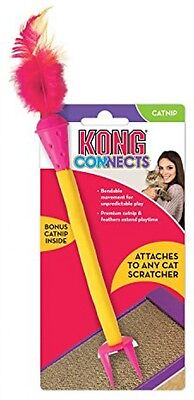 KONG Connects Scratch Cat Toy - With High Quality Cat Nip - Bendable Movement