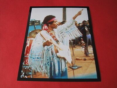 JIMI HENDRIX  10x8  inch lab-printed photo #/154