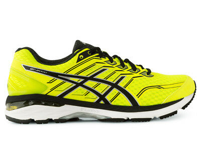 ASICS Men's GT-2000 5 Runner - Safety Yellow/Black/Silver