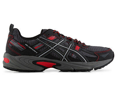 ASICS Men's GEL-Venture 5 Shoe - Black/Carbon/Vermilion
