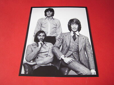 THE BEE GEES  10x8  inch lab-printed photo #/172