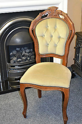 French / Italian Rococo Baroque Style Bedroom Chair
