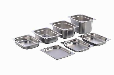 GN Container Gastronorm 1/2 Stainless Steel 20 mm - 200 mm Depth
