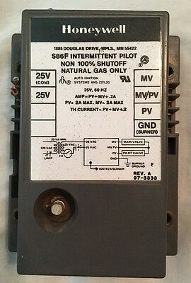 OEM Honeywell S86F Intermittent Pilot Ignition Module HVAC