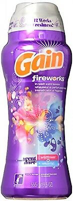 Gain Fireworks Duets Laundry Scent Booster Beads, Wildflower/Waterfall, 19.5