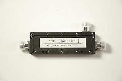 RF Directional Coupler | 698-2700MHz | N Female Connectors (5,6,8,15,20 dB)