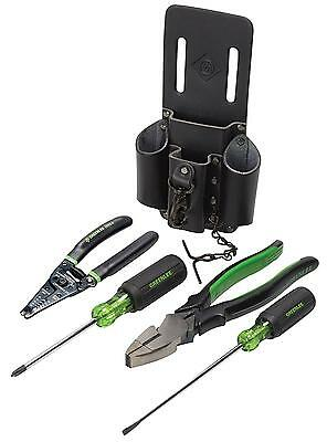 Greenlee 0159 14 Starter Electrician s Tool Kit 5 Piece