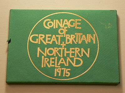Great Britain 1975, Coinage of GB and Northern Ireland, 6 Coins #G3811