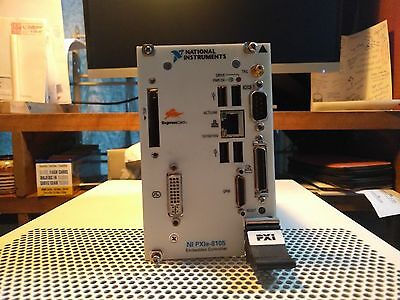 National Instruments NI PXIe-8105 2.0 GHz Dual-Core PXI Express with 128GB SSD