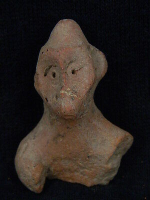 "Ancient Indus Valley Teracotta Monkey Bust C.600 Bc  """"t5806"""""