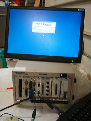 National Instruments NI PXI-1000B Embedded Computer  With motion Control Cards