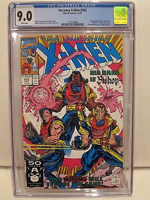 Uncanny X-Men #282 Marvel Comics 11/91 CGC 9.0
