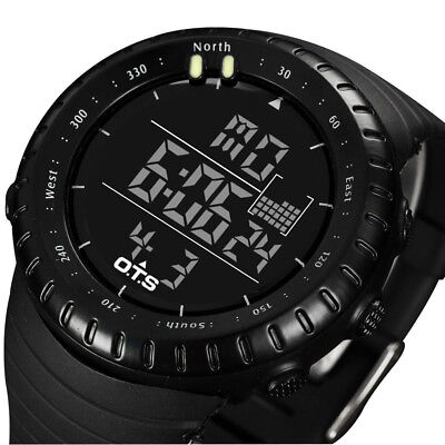 Mens Sport Digital Watch LED Watches