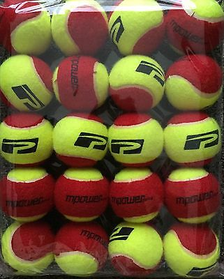 AS NEW Polytec Red Low Compression Tennis Balls 20 Balls