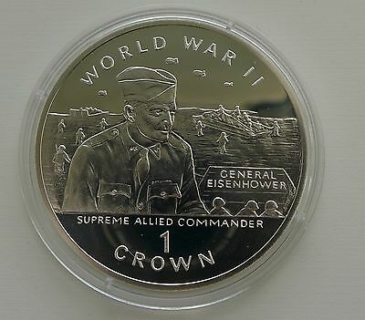 Gibraltar Crown, 1994, World War II, General Eisenhower