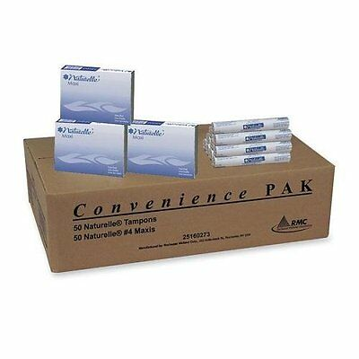 Sanitary Napkin/Tampon Convenience Pack--50 each per case-NEW IN BOX