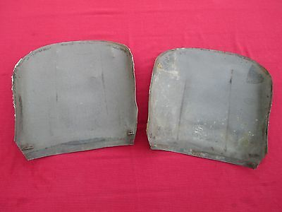 Original Condition Matched Pair of OEM Seat Back Boards MGA Roadster Seats MGB