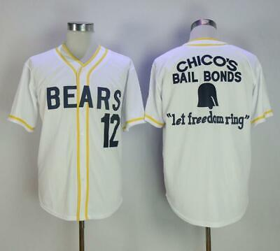 ae7d2a51040 Baseball Jersey Bad News Bears #12 Tanner Boyle Stitched Numbers Cheap  Throwback