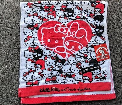 Hello Kitty 40th Anniversary Hand Towel (Friends)