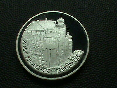 POLAND    100  Zlotych    1977    SILVER    PROOF