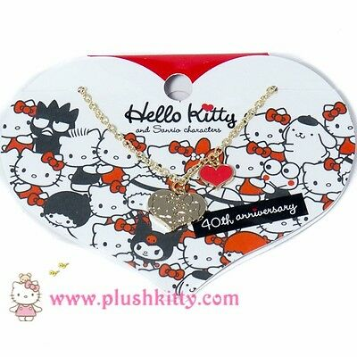 Sanrio Hello kitty Necklace 40th Anniversary  from JAPAN