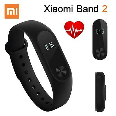 2017! 100% Original Xiaomi Mi Band 2 Smart Wristband Bracelet Heart Rate Monitor