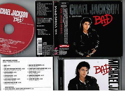 MICHAEL JACKSON Bad JAPAN CD Special Edition w/SLIP CASE+OBI+BOOKLET EICP23