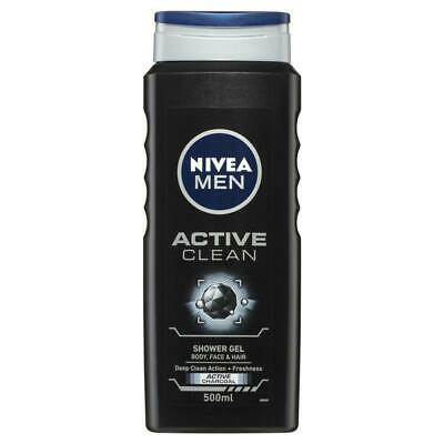 Nivea for Men Active Clean Shower Gel 500ml