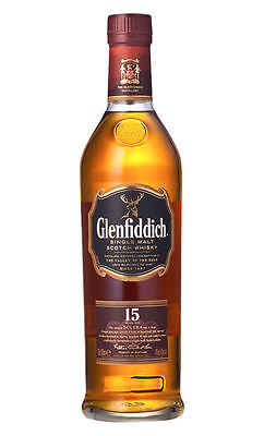 Glenfiddich 15 Yo Speyside Solera Reserve Scotch Whisky Single Malt 700Ml