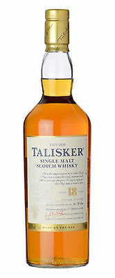 TALISKER SINGLE MALT SCOTCH WHISKY 18 YO 700mL