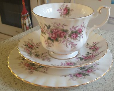 Vintage Royal Albert Trio - Lavender Rose