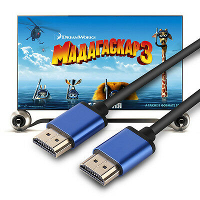 1M/1.8M/3M/5M/10M 1080P HDMI Cable Ethernet HDTV For BLURAY 3D DVD PS3 XBOX TV
