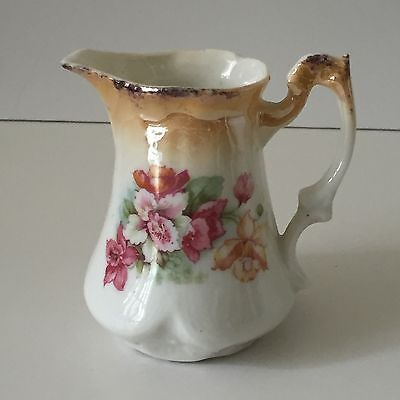 Vintage Look Jug With Flowers