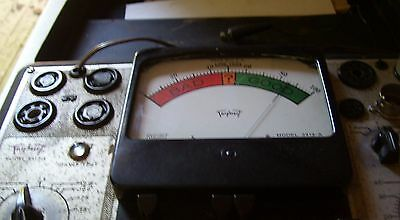Triplet tube tester model 3413-A seams to work. tested about 8 tubes